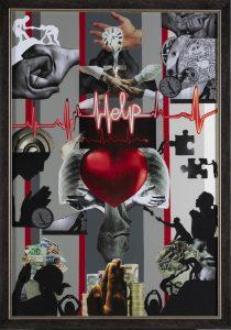Humanity (70×100 cm) PRESENT FOR HUMANITARIAN ORGANISATION