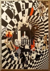 In the Whirlpool of Chess (70×100 cm) SOLD!