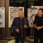 Milena Lasić i Ivan Bekjarev – otvaranje izložbe